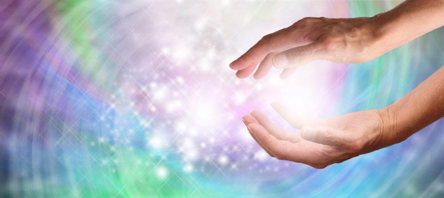 Healer's Sparkling Energy Website Banner